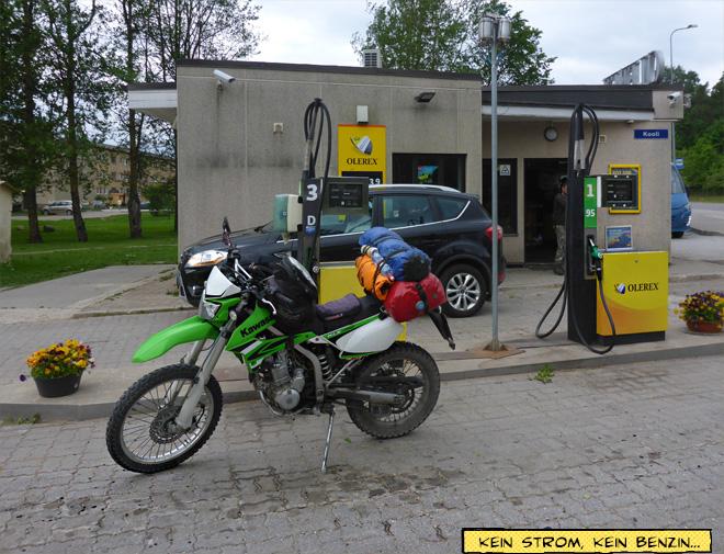 Tankstelle Olerex in Estland