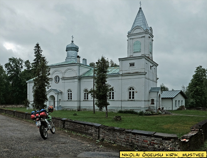 Mustvee Estland Kirche