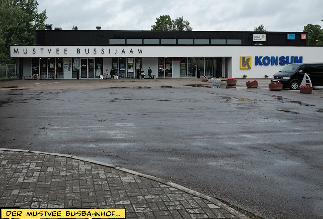 Supermarkt Konsum in Mustvee