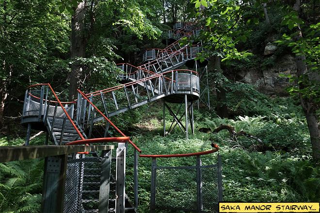 Saka Manor Stairway