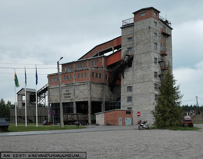 Kohlemine in Estland