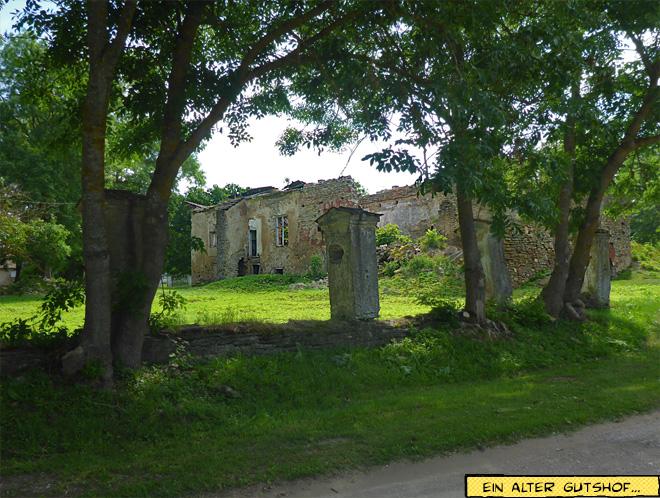 Verfallenes Herrenhaus