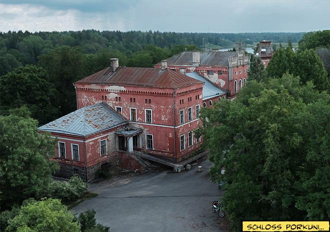 Altes Herrenhaus Fabrikgebäude Estland