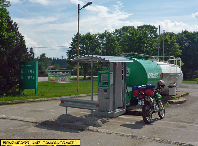 Tankstelle in Estland