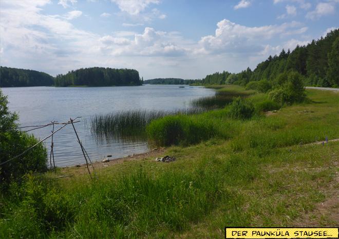 Landschaft im Baltikum