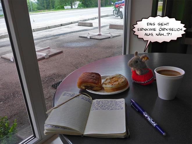 Spiegelei auf Brot
