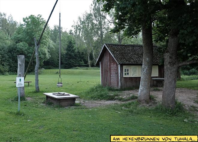 Hexenbrunnen von Tuhala, Estland