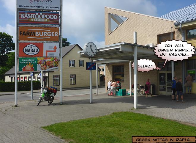 Einkaufszentrum in Estland