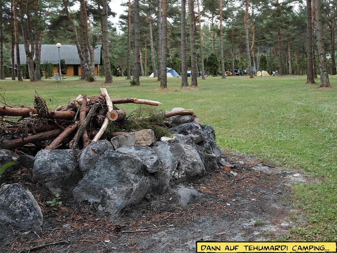Tehumardi Camping Saaremaa, Estland