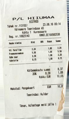 Fähre Saaremaa Restaurant