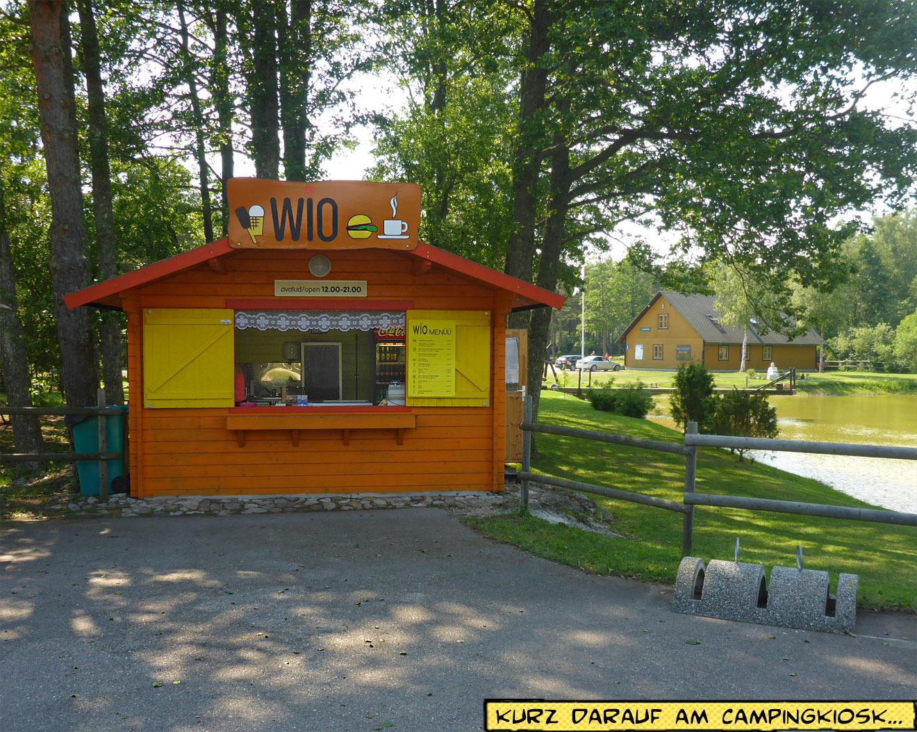 Kiosk WIO Saaremaa Camp Tehomardi