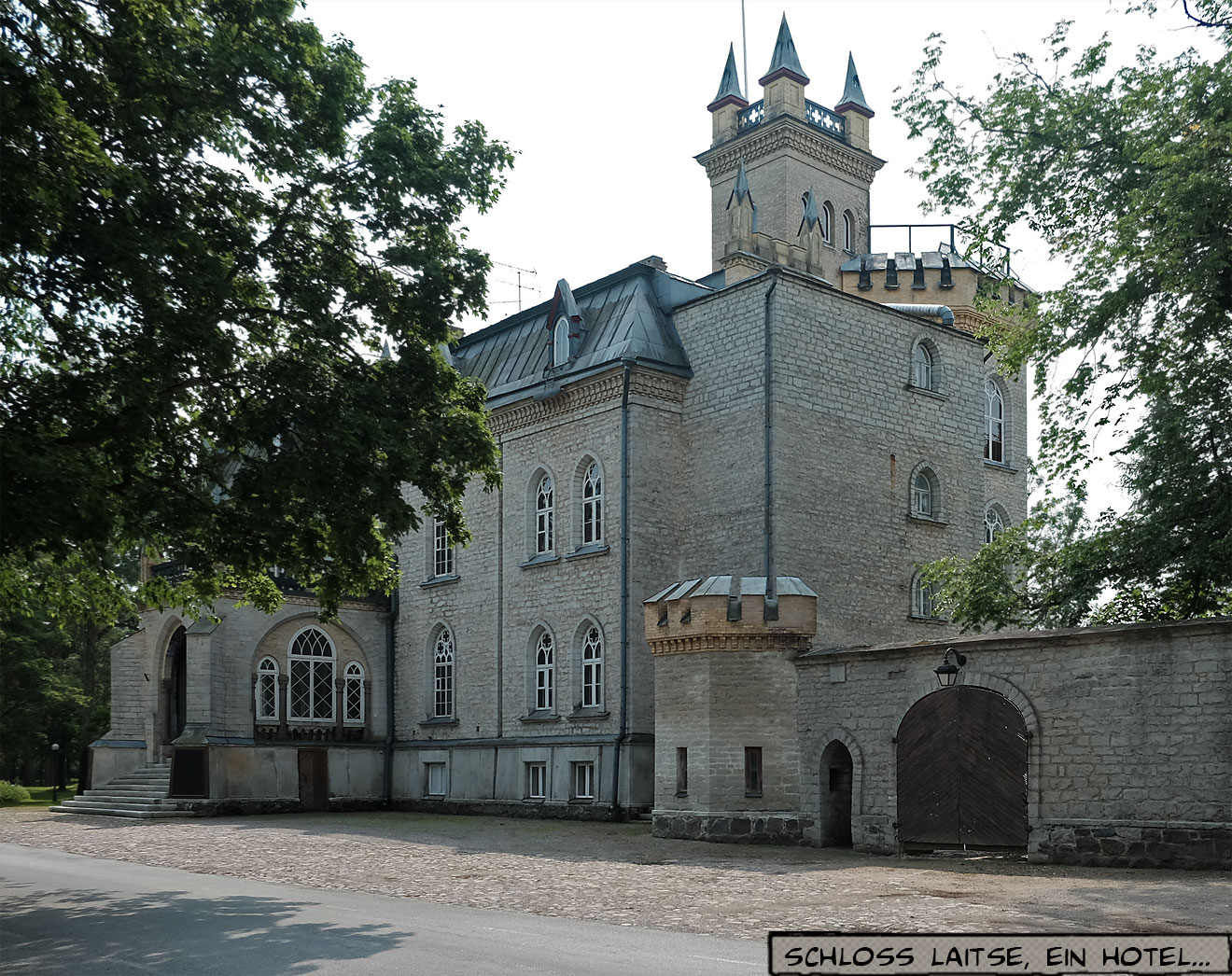Herrenhaus Burg in Estland