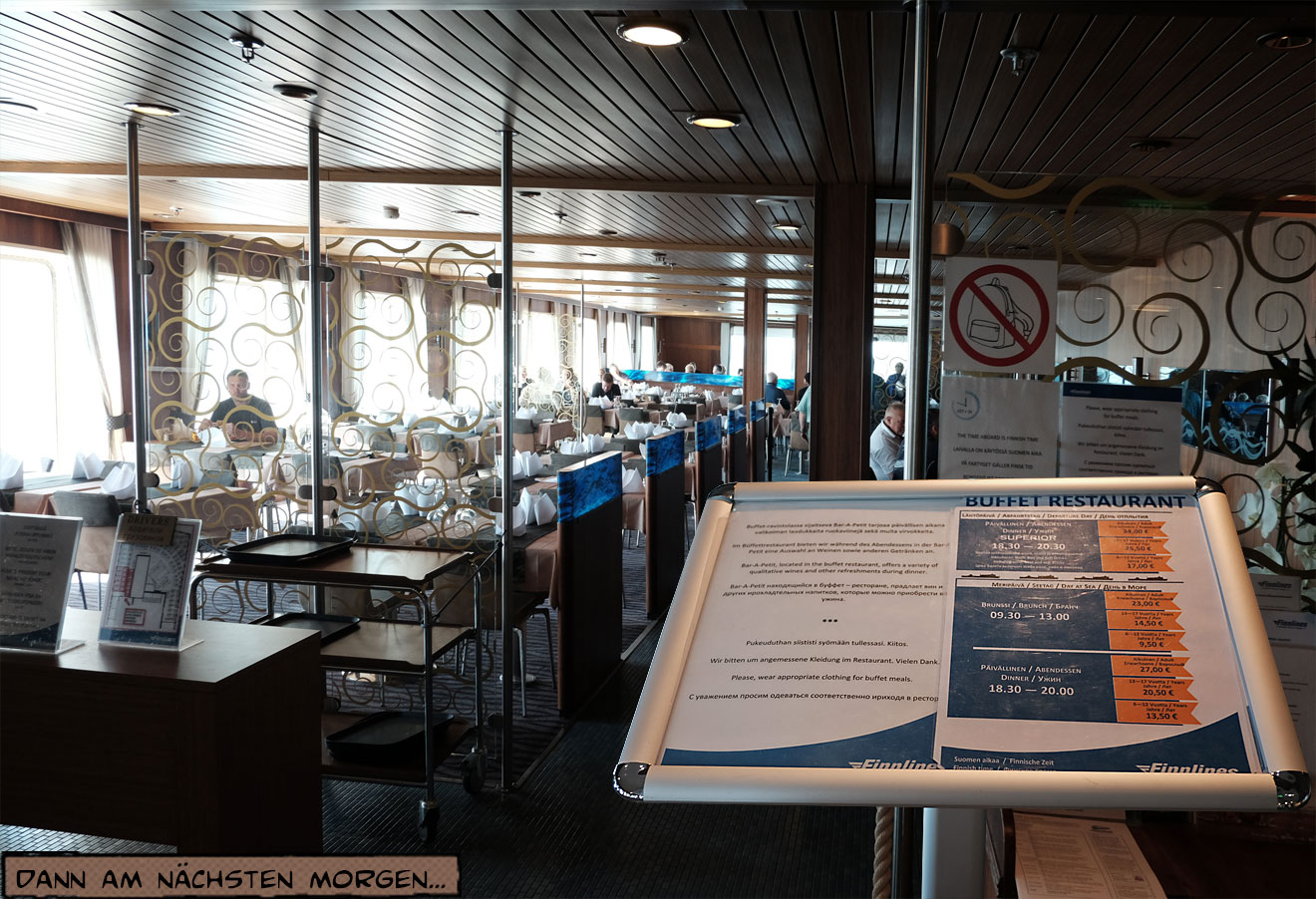 Eingang Speisesaal Schiff