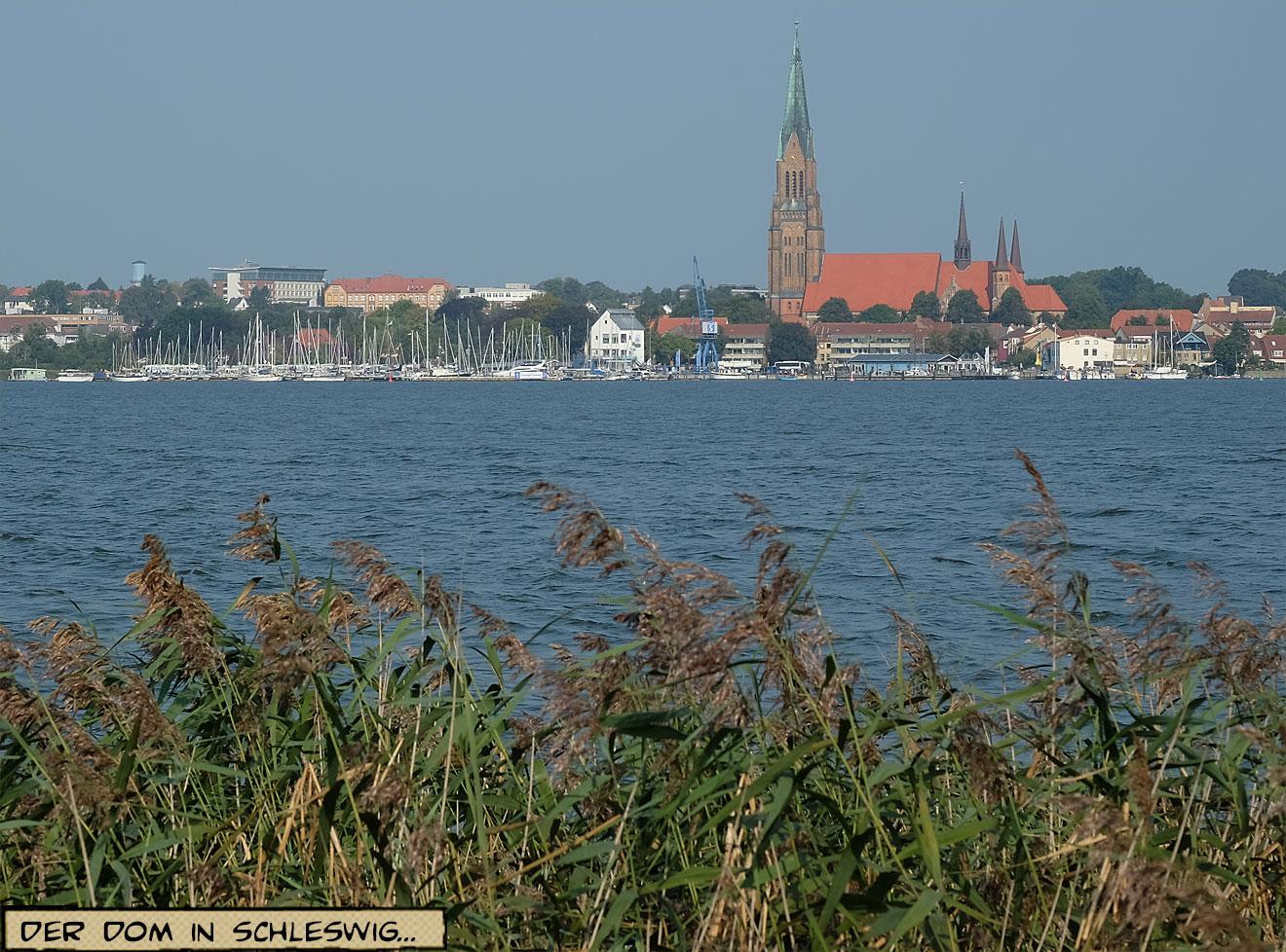 Schleswig an der Schlei mit Dom