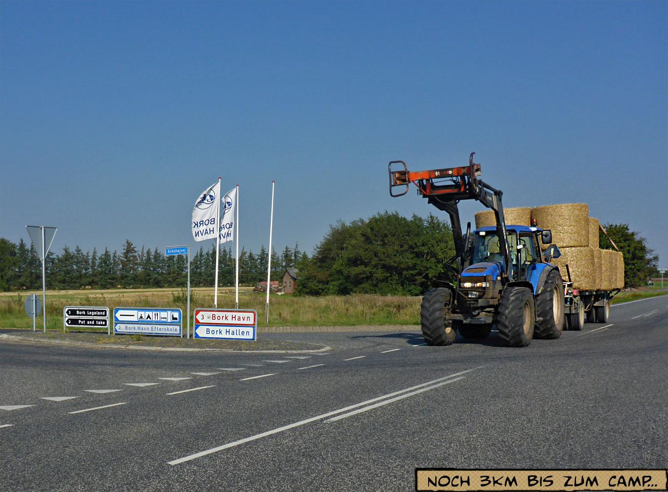 Traktor Stroh Bork Havn