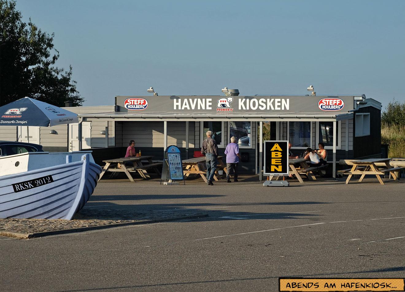 Havne Kiosken Bork Havn