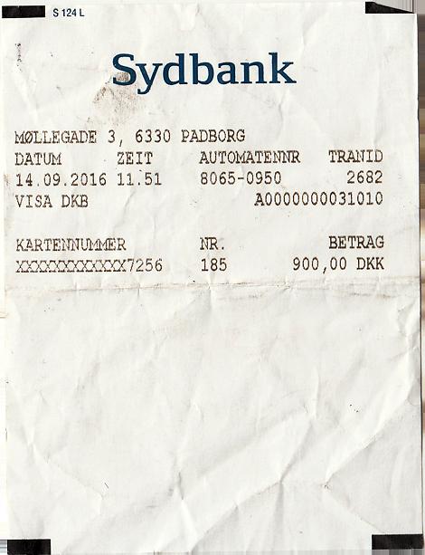 Geldautomat Dänemark Kronen abheben
