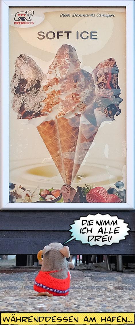 Pieps kauft Eis