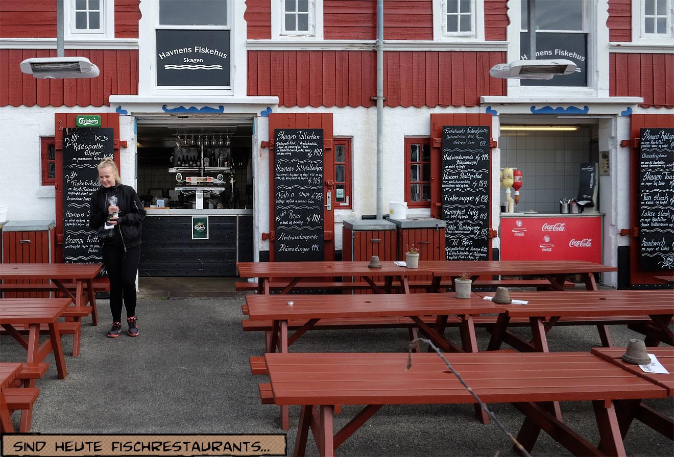 Skagen Fischrestaurant am Hafen
