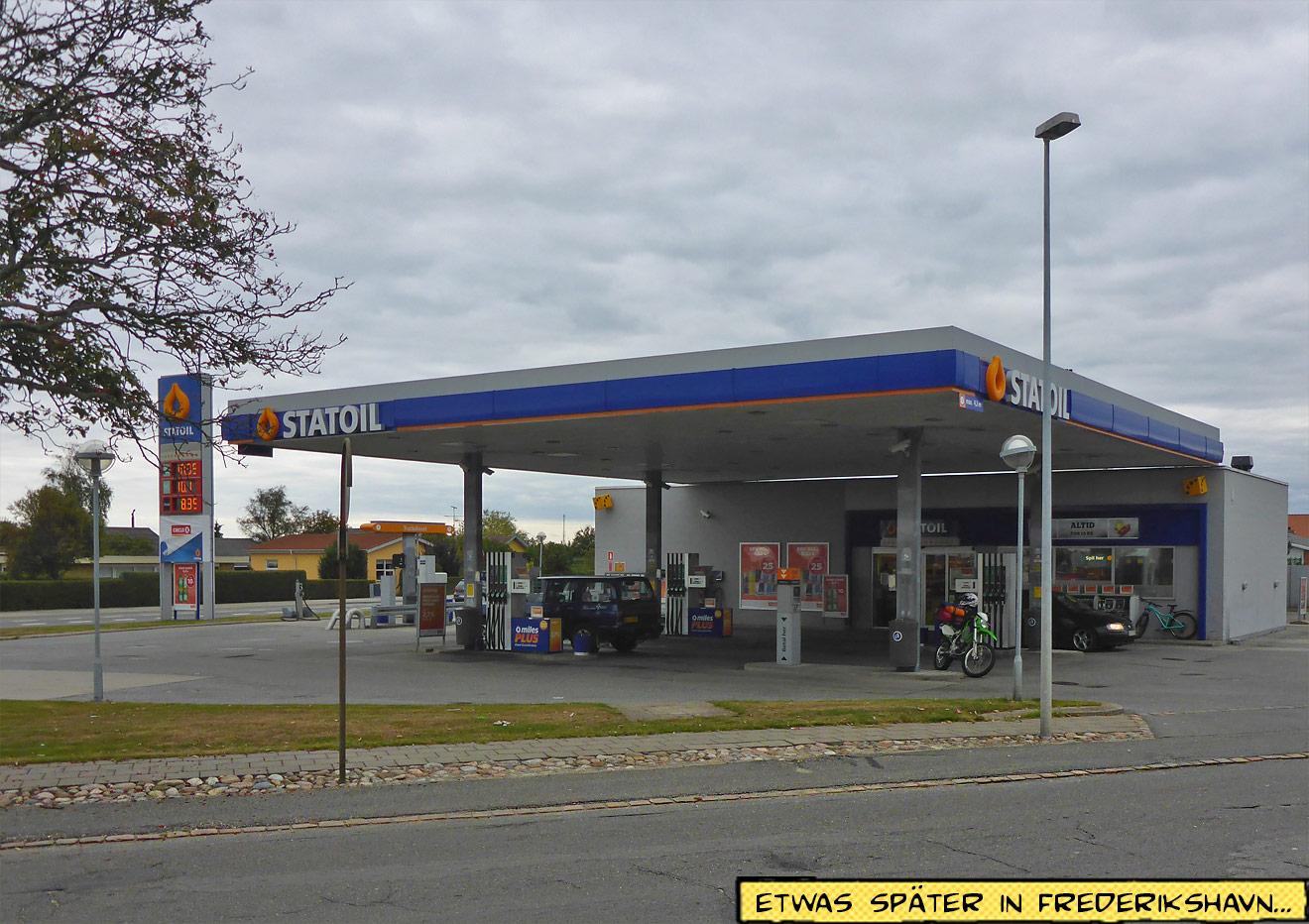 Statoil Station Tankstelle