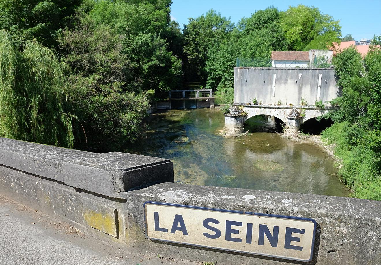 Fluss Seine in Frankreich