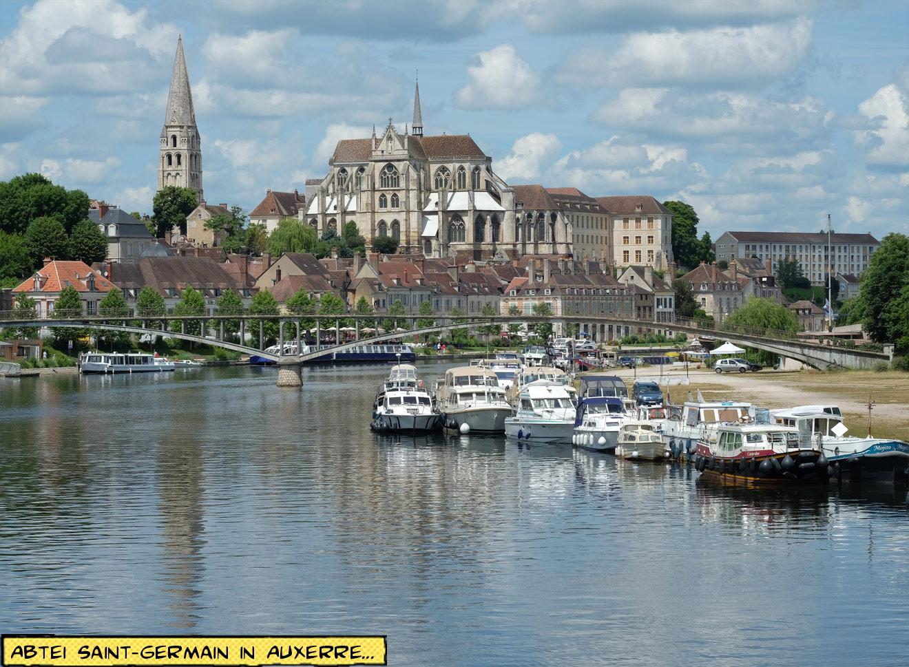 Abtei Saint-Germain in Auxerre