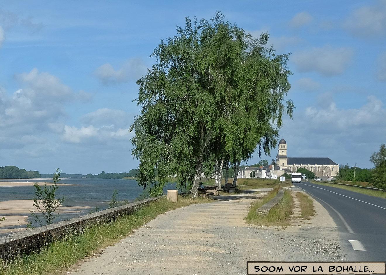 Rastplatz an der Loire