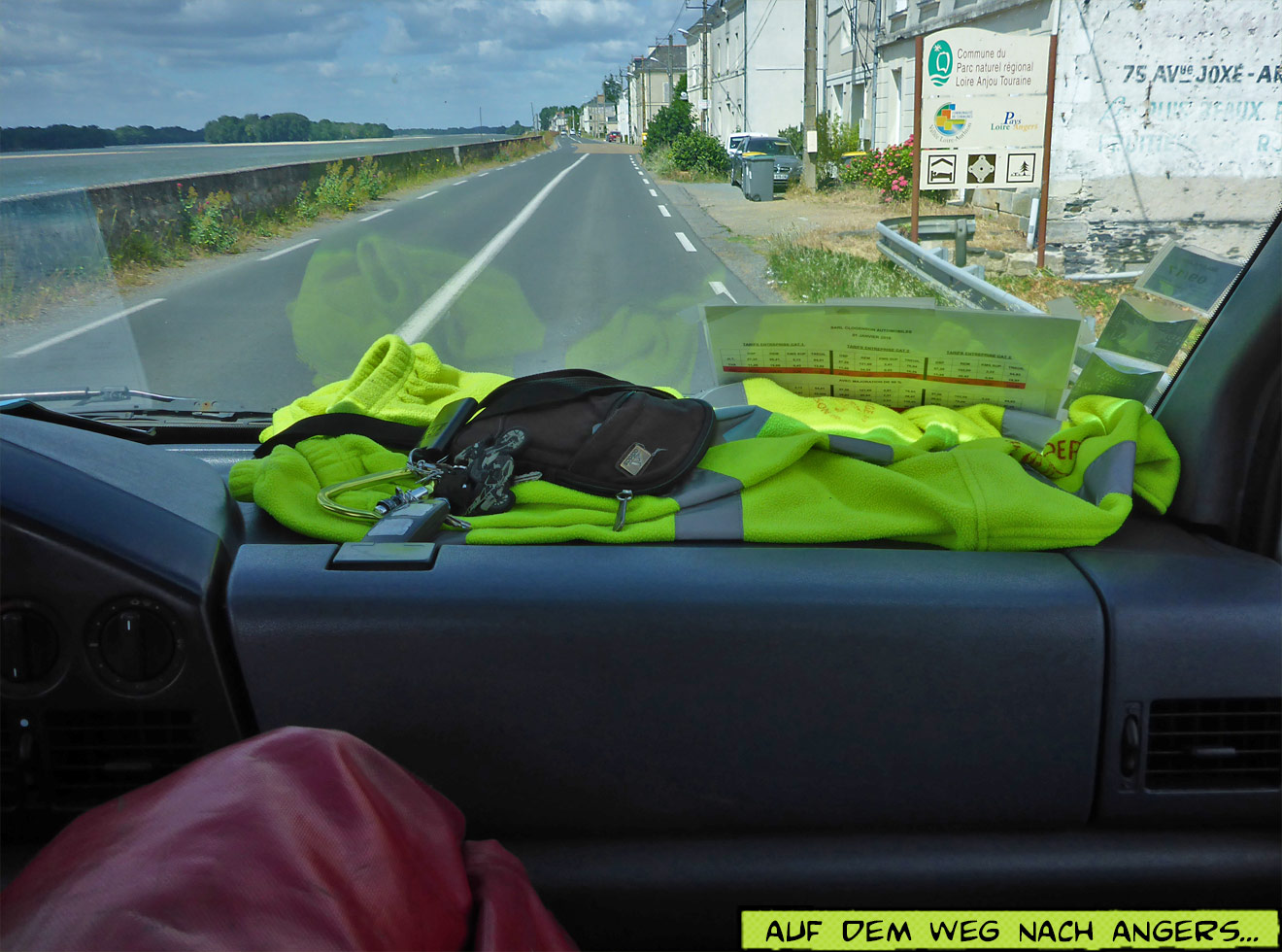 Im Abschleppwagen