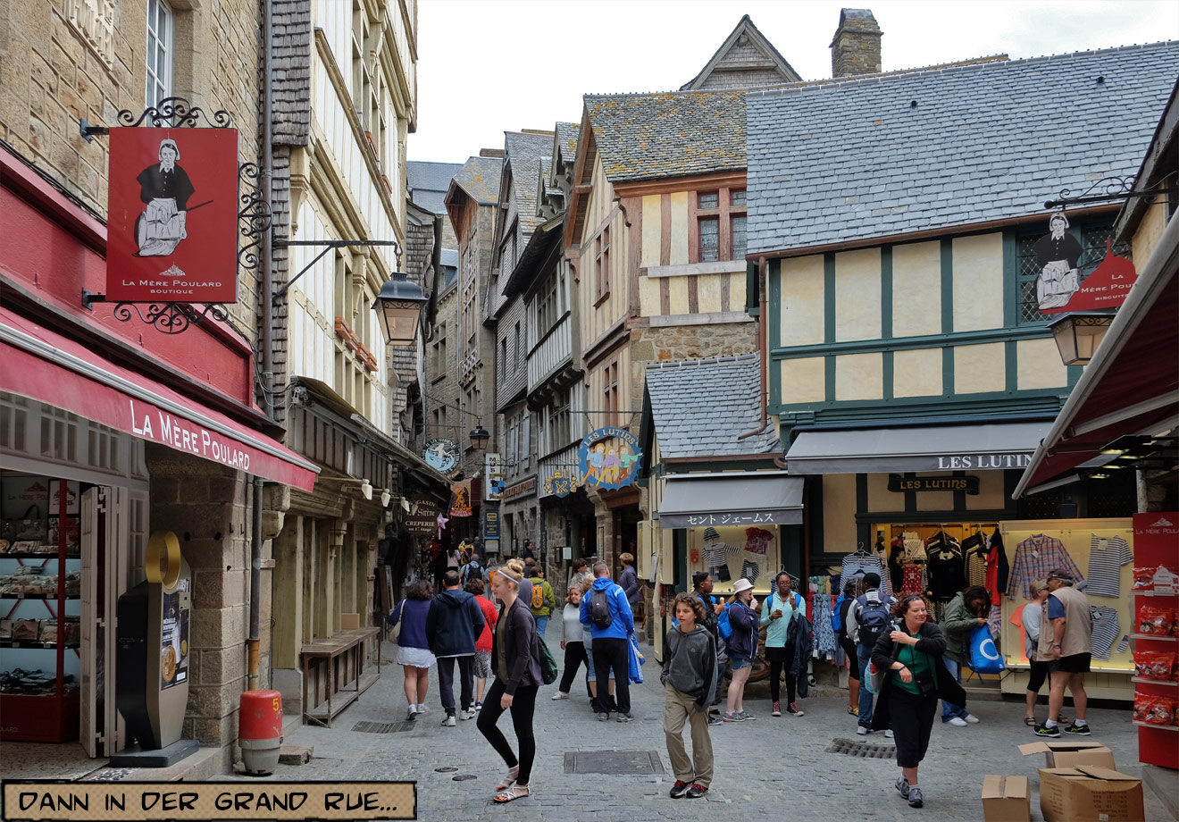 Grand Rue Mont Saint Michel