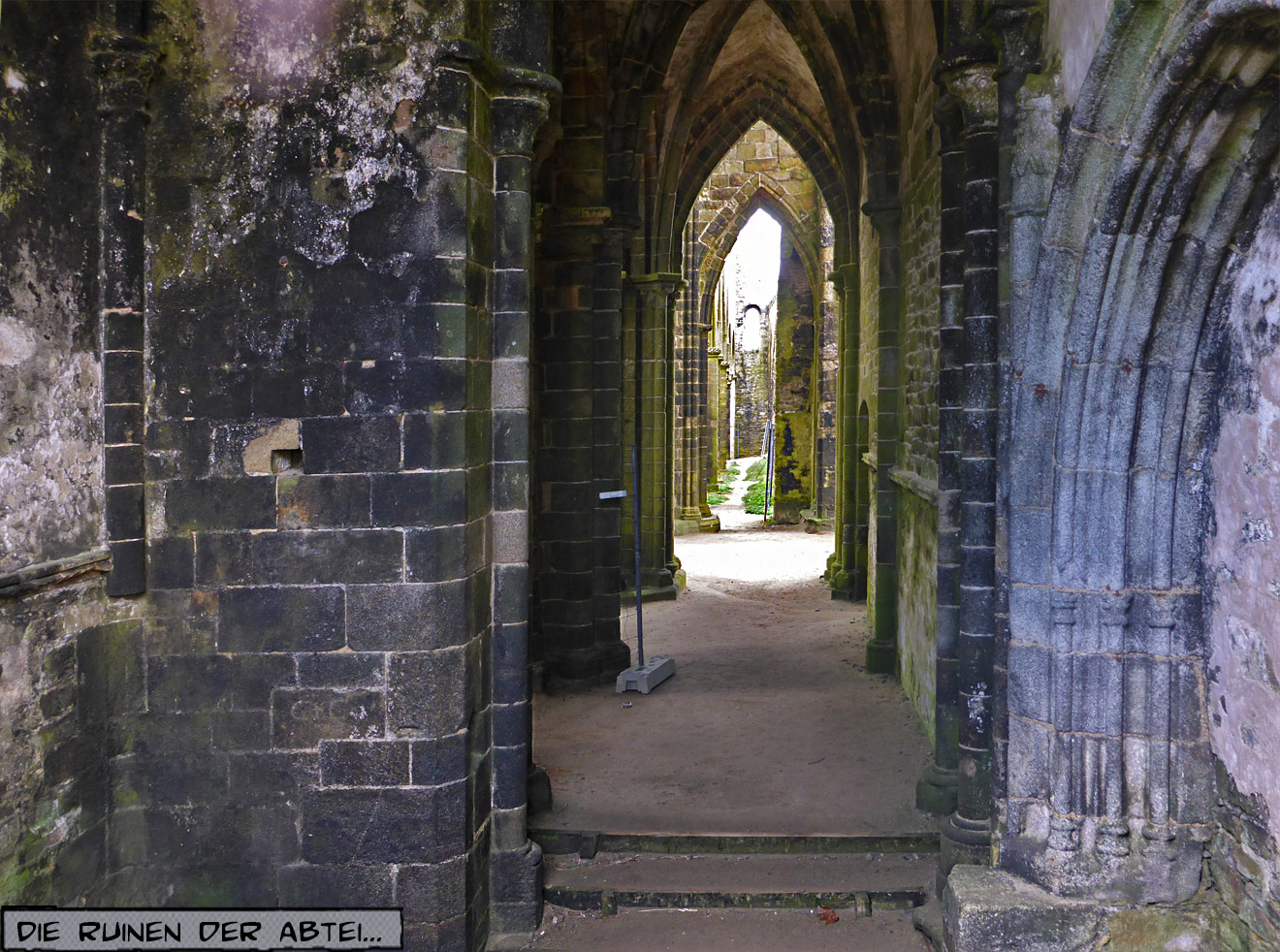 Saint Mathieu Leuchtturm und Kloster