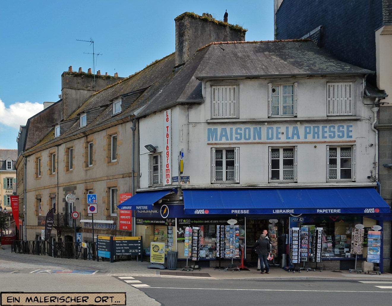 Maison de la Presse in Châteaulin