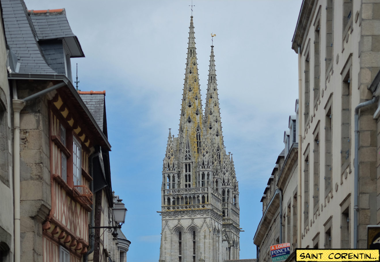 Kathedrale St. Corentin in Quimper