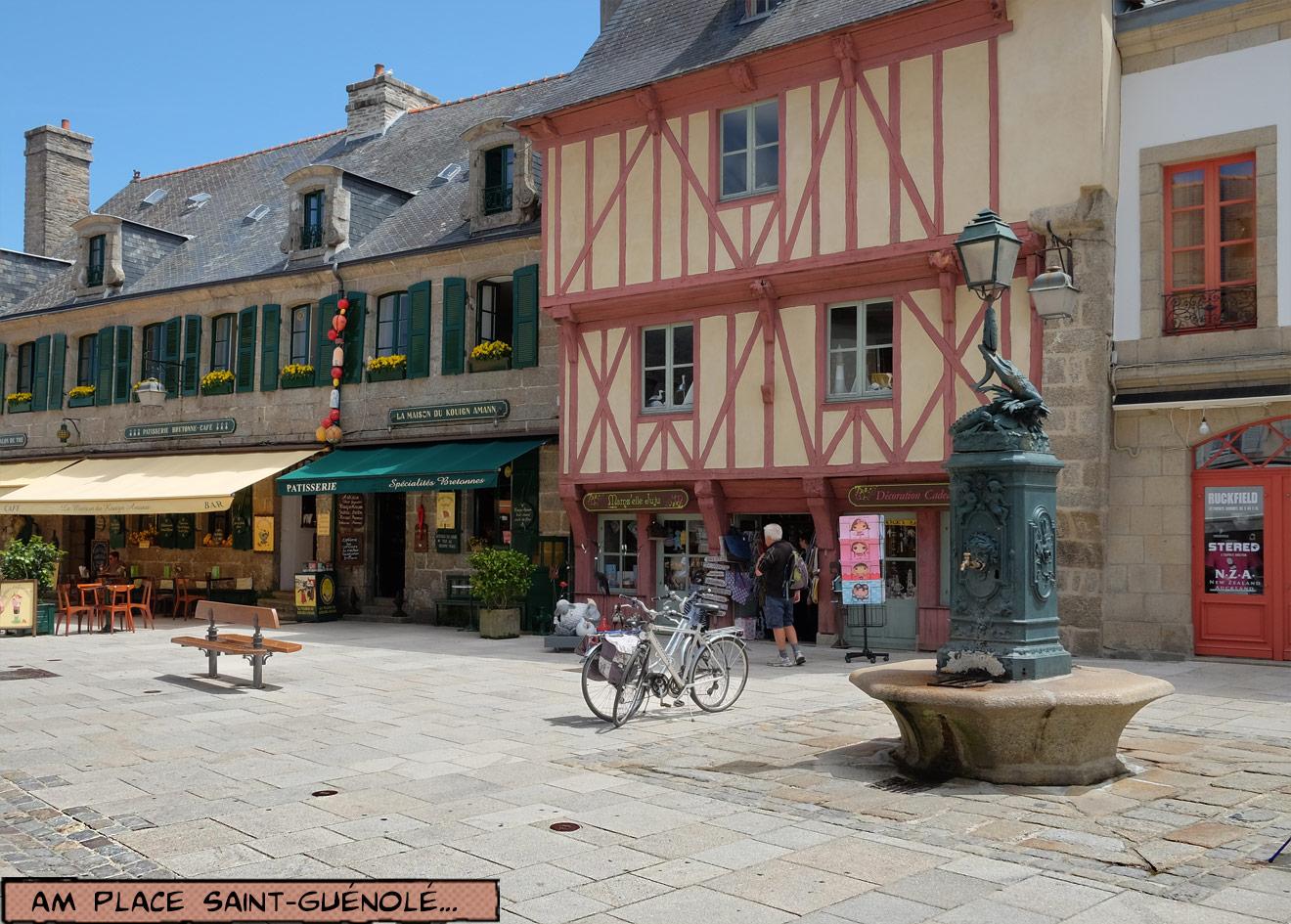 Ville Close Concarneau Grand Rue