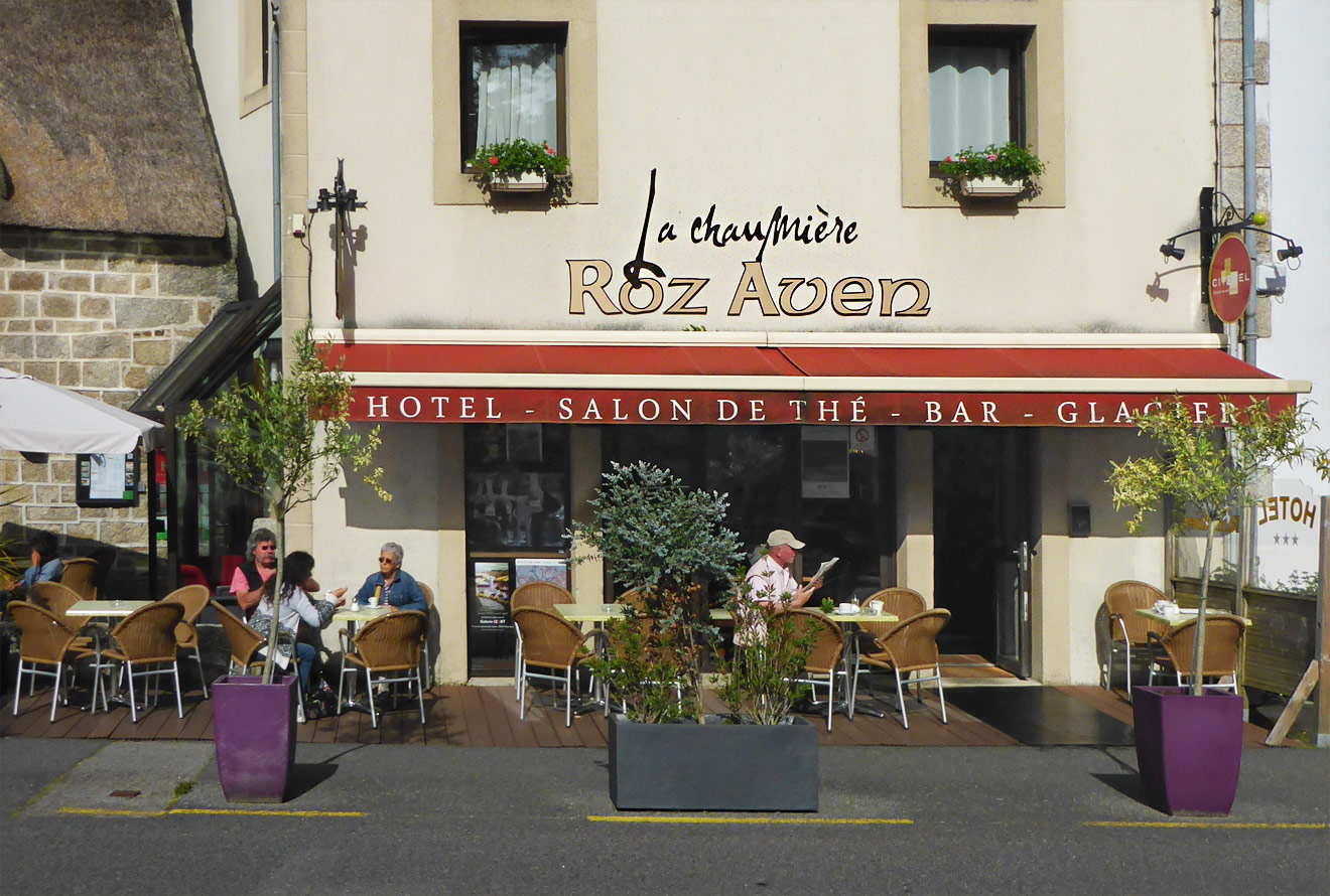 Salon du The Pont Aven