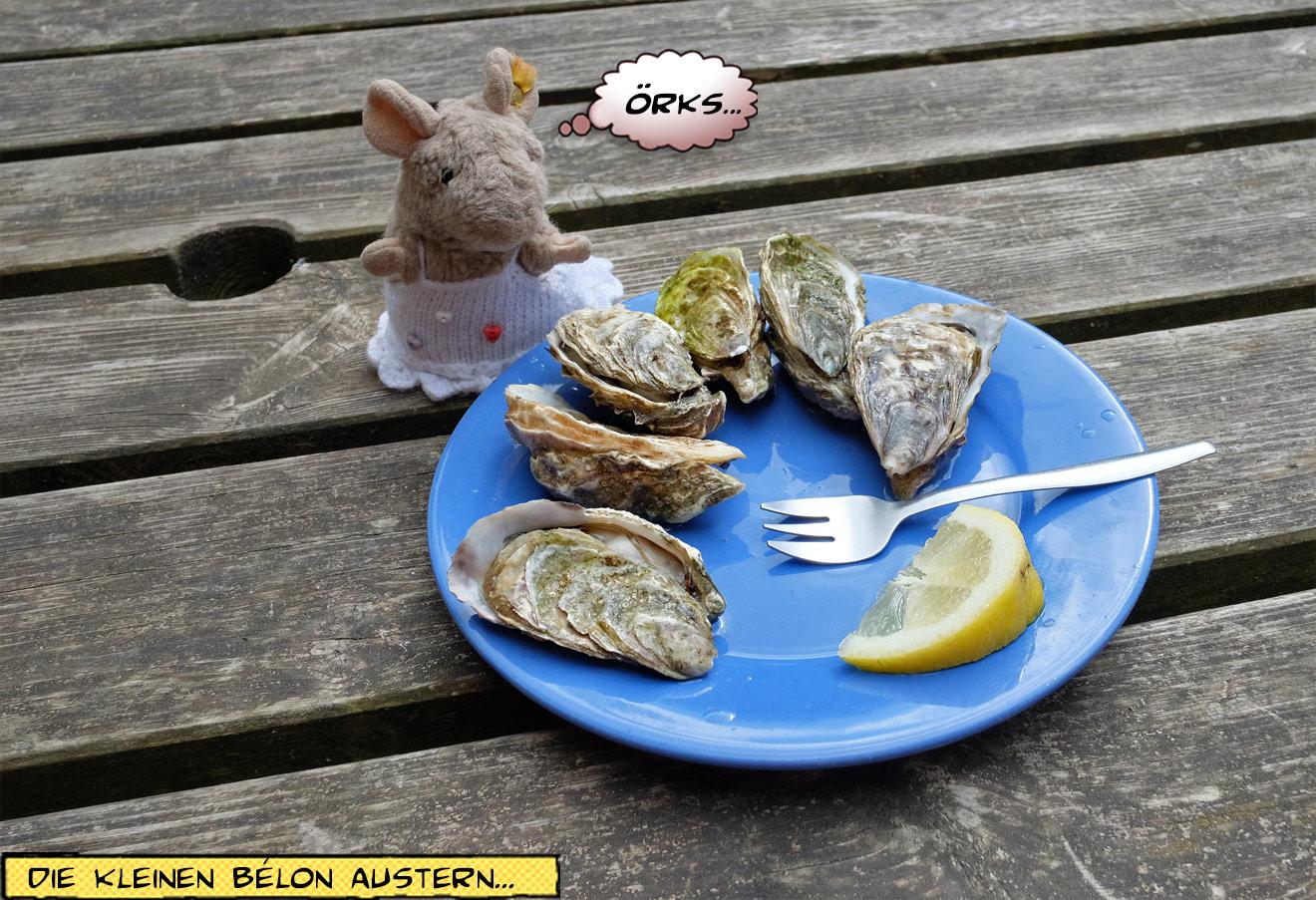 Austern mit Zitrone