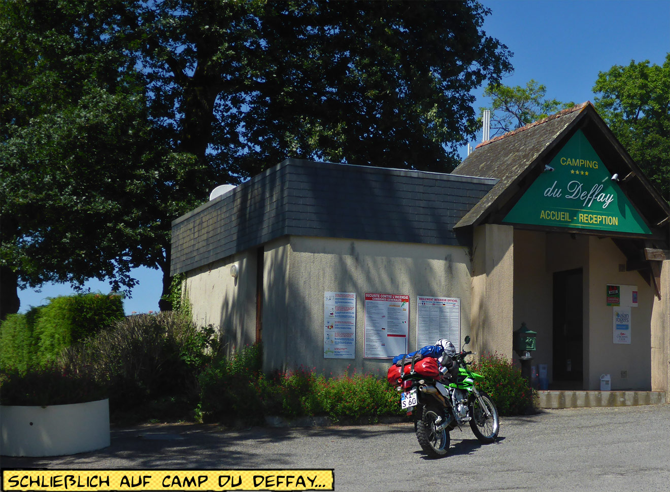 Camping du Duffay Rezeption