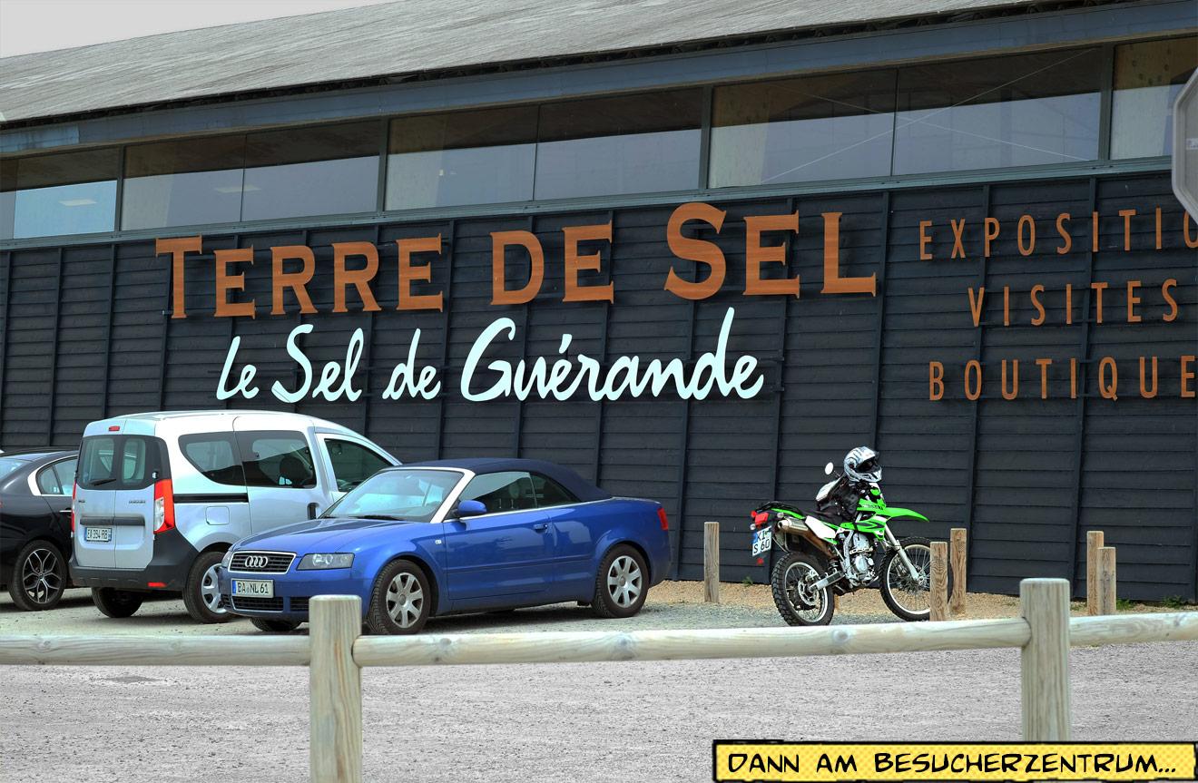 Terre de Sel Besucherzentrum in der Bretagne