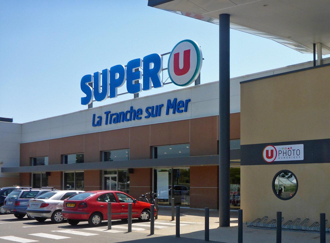 Supermarkt in Frankreich