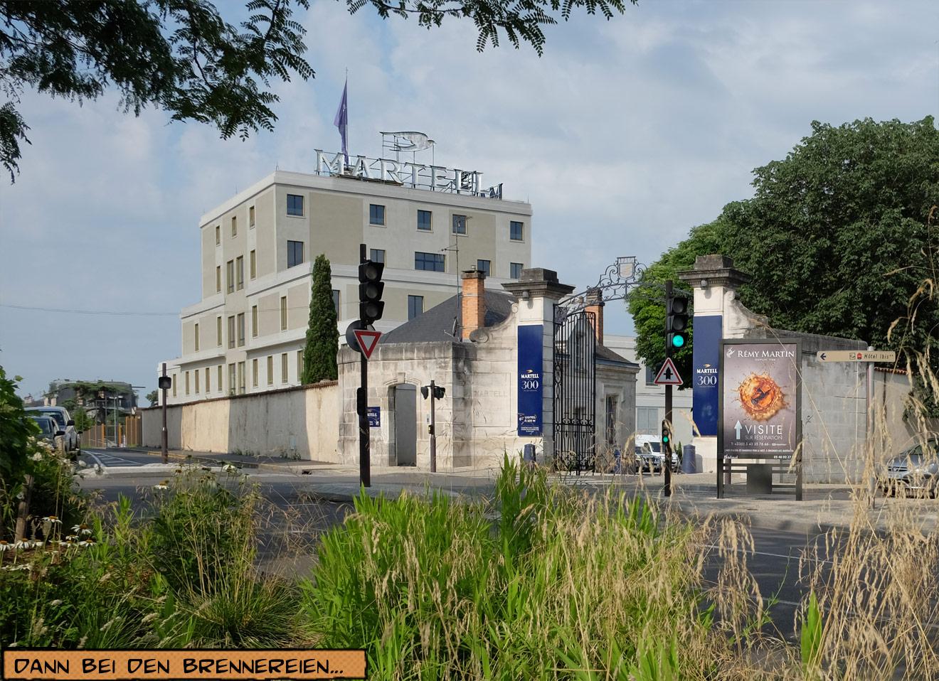 Fabrik Martell in Cognac