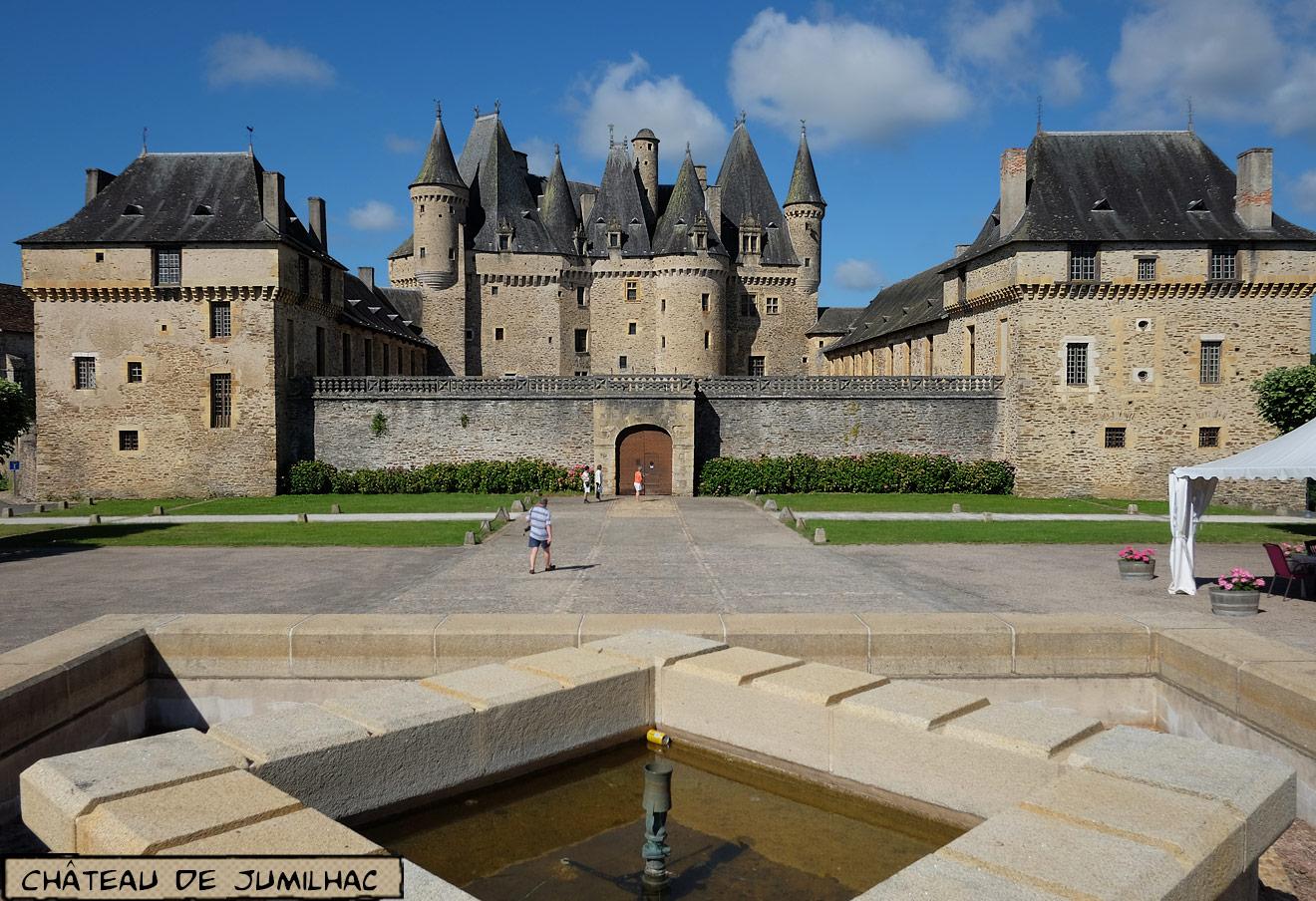 Chateau Jumilhac-le-Grand