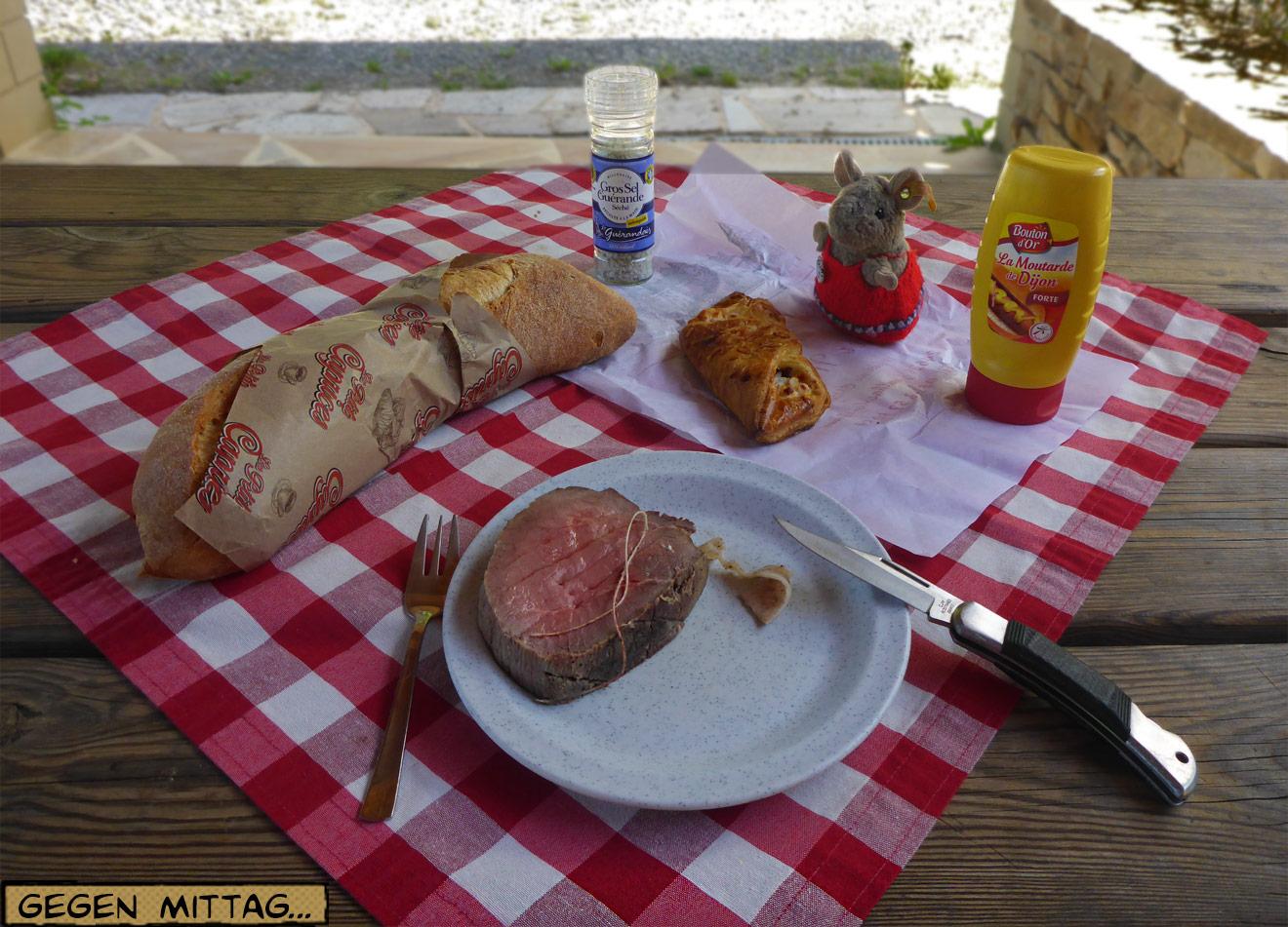 Picknick mit Roastbeef