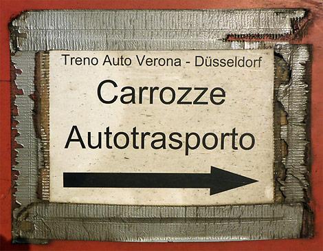 Autozug Verona