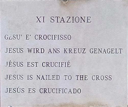 Jesus Kreuzigung