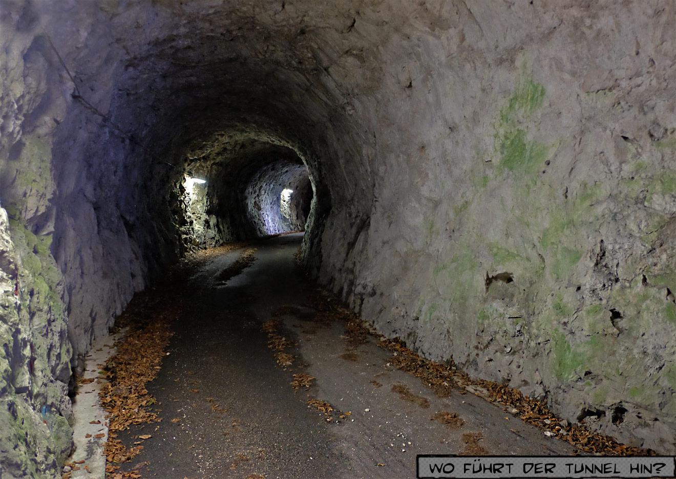Tunnel am Lago Corlo