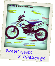 BMW G650 Xchallenge