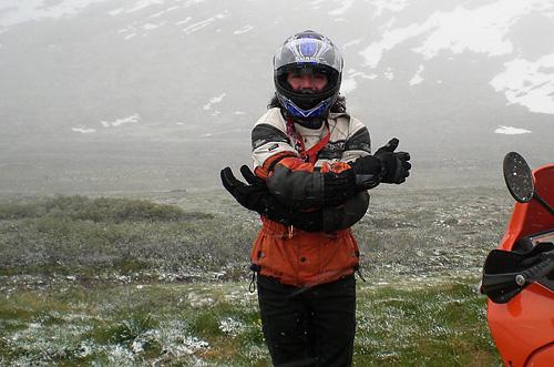 Es ist kalt auf dem Hardangervidda
