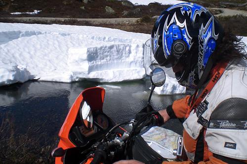 Rallarvegen Hardangervidda - nicht immer ist der Weg eindeutig