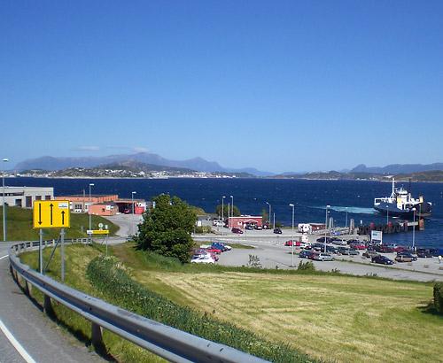 Fähre bei Trondheim