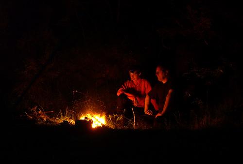 Lagerfeuer Campfire Norwegen wildcampen