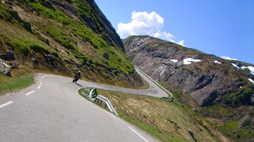 Zufahrt zum Pass nach Lysebotn